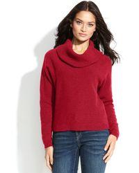 Inc International Concepts Longsleeve Cowlneck Sweater - Lyst