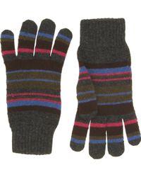 Paul Smith - Mixed Stripe Glove - Lyst
