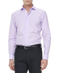 Ralph Lauren Black Label - Striped Dress Shirt - Lyst