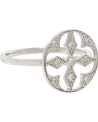 Stone - Diamond Nirvana Ring - Lyst