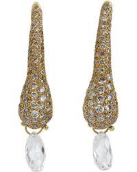 Ten Thousand Things Diamond Briolette Earrings