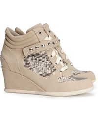 H&M Sneakers with A Wedge Heel - Lyst