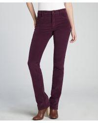 James Jeans Plum Cotton Corduroy 'Hunter' Straight Leg Jeans - Lyst