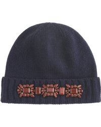 J.Crew - Jewelled Hat - Lyst