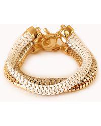 Forever 21 - Sleek Gradated Bracelet Set - Lyst