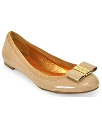 Kate Spade Tock - Ballet Flat In New Camel Patent Leather - Lyst