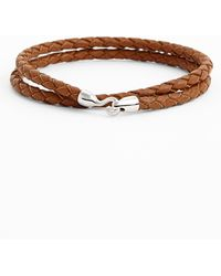 Mateo Bijoux | Double Wrap Leather Rope Bracelet | Lyst