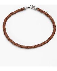 Mateo Bijoux | Greek Braided Leather Bracelet | Lyst