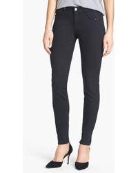 MICHAEL Michael Kors Embellished Skinny Jeans - Lyst