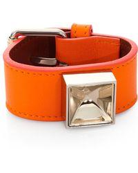 Proenza Schouler Ps11 Leather Bracelet/2 - Lyst