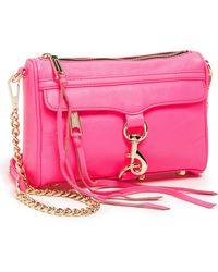 Rebecca Minkoff Mini Mac Shoulder Bag - Lyst