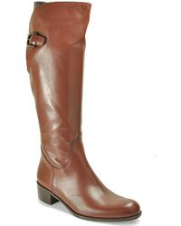 Sesto Meucci - Luggage Leather Riding Boot - Lyst