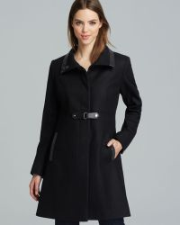 Via Spiga - Coat Wool Toggle - Lyst