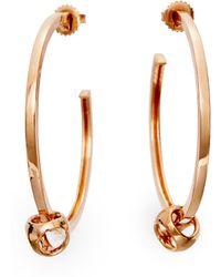 Di Modolo - Triadra Hoop Earrings - Lyst