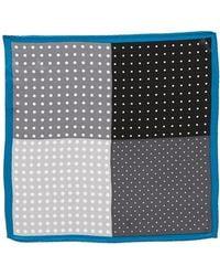 Original Penguin Amsterdam Dot Silk Pocket Square - Lyst
