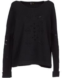 Fendi Long Sleeve Sweater - Lyst