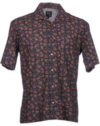 McQ by Alexander McQueen Short Sleeve Shirt - Lyst