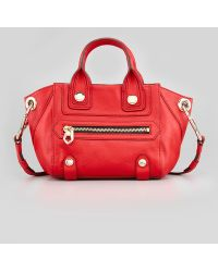 orYANY - Angelina Small Satchel Bag Red - Lyst