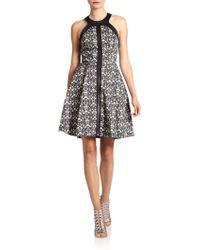 Robert Rodriguez | Filigreeprint Zipfront Dress | Lyst
