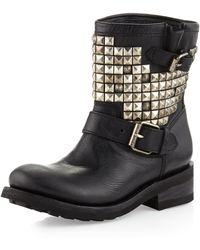 Ash Titanic Studded Boot Black - Lyst