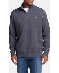 Tommy Bahama Antigua Half Zip Pullover - Lyst