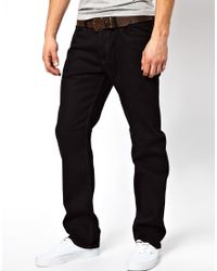 Diesel Jeans Waykee 886Z Straight Fit Black - Lyst