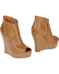 Jeffrey Campbell Ankle Boots brown - Lyst