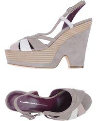 Leopoldo Giordano Platform Sandals - Lyst