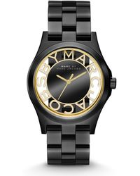 Marc By Marc Jacobs Henry Skeleton Watch - Lyst