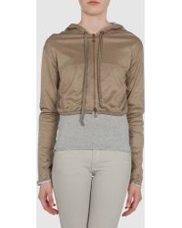 Marco De Vincenzo Hooded Sweatshirt - Lyst