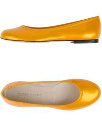 Pierre Darre' Ballet Flats - Lyst