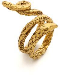 Aurelie Bidermann Snake Ring - Gold - Lyst
