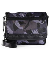 DIESEL | Camo Messenger Bag | Lyst