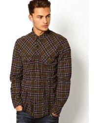 Diesel Shirt Stulipa Check Flannel - Lyst