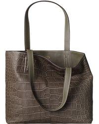 Hermès Double Sens Croco Chiffon Pm - Lyst