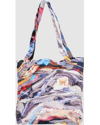 Hussein Chalayan Large Fabric Bag - Lyst