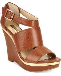 Inc International Concepts Womens Camie Platform Wedge Sandals - Lyst