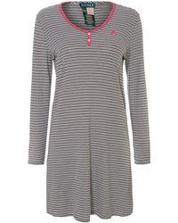 Lauren by Ralph Lauren - Verona Stripe Nightdress - Lyst