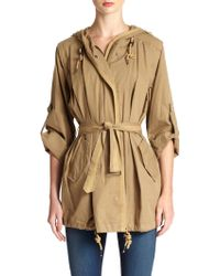 Nicholas K Forster Cotton Convertible Anorak - Lyst