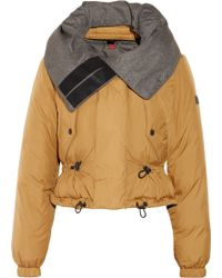 Burberry Brit - Reversible Cropped Padded Shell Jacket - Lyst