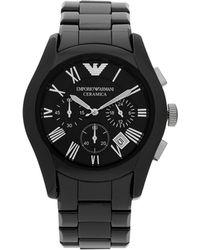 Emporio Armani Wrist Watch - Lyst
