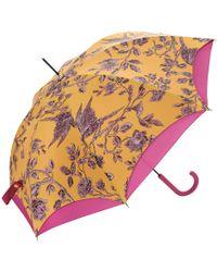 Joules - Posy Double Canopy Walking Umbrella - Lyst