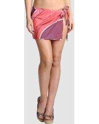 Pin Up Stars Pink Sarong - Lyst