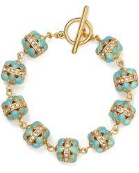 Ralph Lauren Lauren Half Moon Bracelet - Lyst