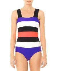 ROKSANDA - Antares Colour Block Swimsuit - Lyst