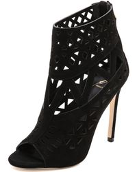 B Brian Atwood - Levens Cutout Booties - Lyst