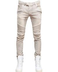 Balmain 16cm Stretch Skinny Denim Jeans - Lyst