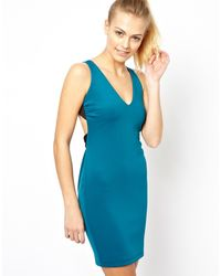 Boulee Blue Bodycon Dress - Lyst