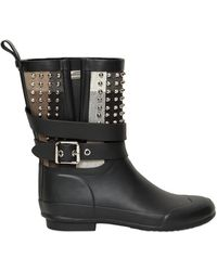 Burberry 20mm Holloways Rubber Studded Boots - Lyst