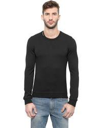 Dolce & Gabbana Cotton Jersey Long Sleeves T-Shirt - Lyst